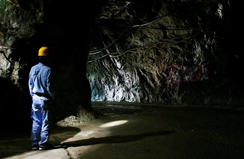 神岡鉱山跡