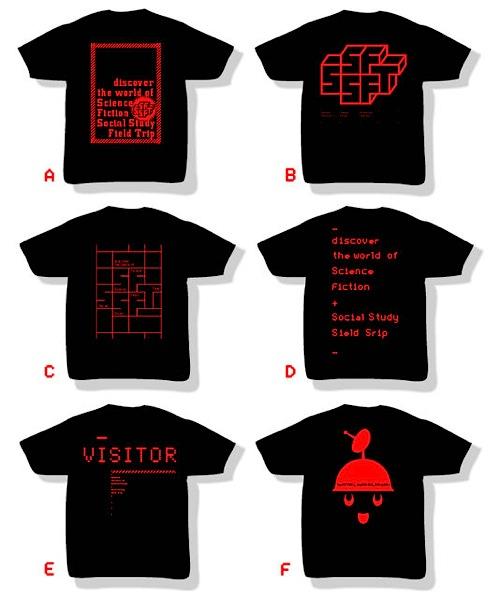 超SF的社会科見学Tシャツ
